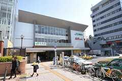 JR山手線・京浜東北線、田端駅の様子。(2012-04-09,共用部,ENVIRONMENT,1F)