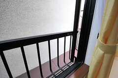 窓は手すり付きです。(201号室)(2012-06-01,専有部,ROOM,2F)