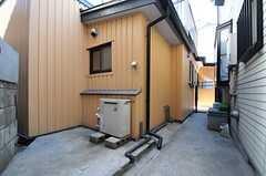 駐輪場の様子。(2013-05-31,共用部,GARAGE,1F)