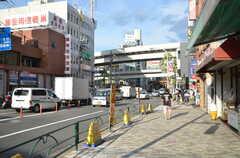 各線・西日暮里駅前の様子。(2012-09-24,共用部,ENVIRONMENT,1F)