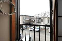 窓から見た外の景色。(202号室)(2014-03-12,専有部,ROOM,2F)