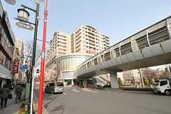 西武池袋線・清瀬駅前の様子。(2014-03-12,共用部,ENVIRONMENT,1F)