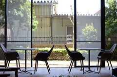 窓の様子。(2014-04-23,共用部,LIVINGROOM,1F)