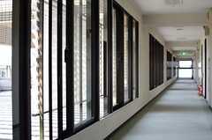 窓の外はテラスです。(2014-04-23,共用部,OTHER,6F)