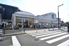 JR・花小金井駅の様子。(2017-04-17,共用部,ENVIRONMENT,1F)