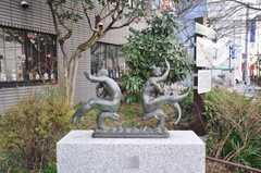 高名な方が残した像。(2009-02-17,共用部,ENVIRONMENT,1F)
