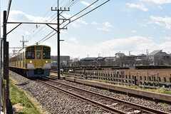 シェアハウスの前を、西武国分寺線が走ります。(2017-03-09,共用部,OTHER,1F)