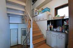 階段の様子。(2012-06-20,共用部,OTHER,1F)