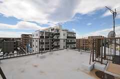屋上の様子3。(2012-06-20,共用部,OTHER,3F)