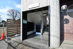 集合ポストと宅配ボックスが設置されています。(2017-02-27,共用部,GARAGE,1F)