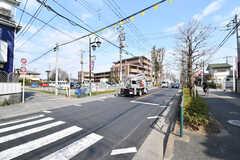 駅からシェアハウスへ向かう道の様子。(2017-02-27,共用部,ENVIRONMENT,1F)
