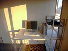 共用PC。(2007-12-20,共用部,LIVINGROOM,5F)