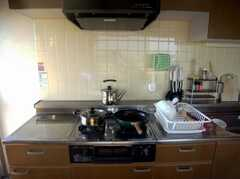 シェアハウスのキッチンの様子2。(2007-12-20,共用部,KITCHEN,5F)