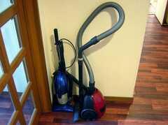 廊下に設置された共用の掃除機(2007-12-20,共用部,OTHER,5F)
