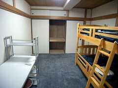 専有部の様子3。押入れ収納もばっちり(506号室)(2007-12-20,専有部,ROOM,5F)