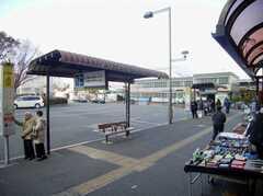 西武新宿線小平駅の様子。(2007-12-20,共用部,ENVIRONMENT,1F)