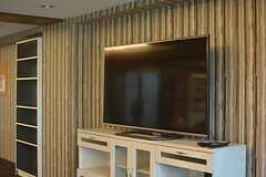 共用TVの様子。(2015-08-06,共用部,TV,1F)