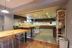 キッチンの様子。(2014-04-18,共用部,KITCHEN,1F)