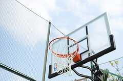 バスケットゴールの様子。(2014-04-18,共用部,OTHER,1F)