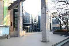 総合体育館の様子。(小金井公園)(2014-03-05,共用部,ENVIRONMENT,1F)