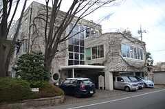 駅からシェアハウスへ向かう途中にある、スタジオジブリの本社。(2014-03-05,共用部,ENVIRONMENT,1F)