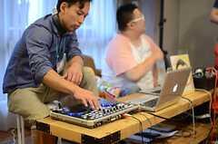 会場に流れる音楽はここから。(2014-06-07,共用部,PARTY,1F)