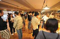 オープニング・パーティーの様子6。(2014-06-07,共用部,PARTY,1F)