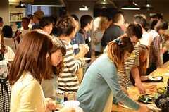 オープニング・パーティーの様子8。(2014-06-07,共用部,PARTY,1F)