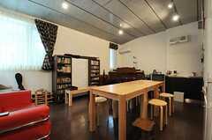 カフェスペースの様子。(2013-10-02,共用部,OTHER,2F)