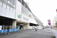 JR中央線(快速)・武蔵小金井駅の様子。(2013-10-02,共用部,ENVIRONMENT,1F)
