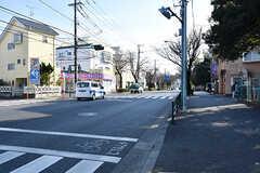 駅からシェアハウスへ向かう道の様子。(2017-01-19,共用部,ENVIRONMENT,1F)