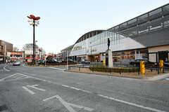JR中央線・武蔵小金井駅の様子。(2017-01-19,共用部,ENVIRONMENT,1F)