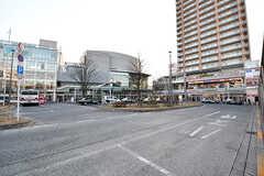 武蔵小金井駅南口のロータリーの様子。(2017-01-19,共用部,ENVIRONMENT,1F)