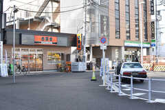 中央総武線・東小金井駅周辺の様子。(2017-01-30,共用部,ENVIRONMENT,1F)