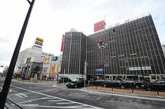 JR中央線(快速)・武蔵小金井駅前の様子。(2015-01-16,共用部,ENVIRONMENT,1F)