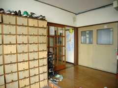 靴箱の様子。(2008-02-08,周辺環境,ENTRANCE,1F)