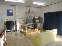 シェアハウスのラウンジ2。(2008-02-08,共用部,LIVINGROOM,1F)