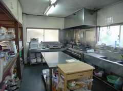 シェアハウスのキッチンの様子。(2008-02-08,共用部,KITCHEN,1F)