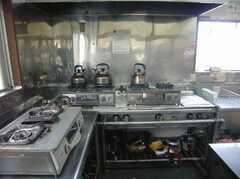 シェアハウスのキッチンの様子2。(2008-02-08,共用部,KITCHEN,1F)
