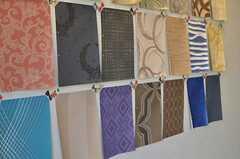 各部屋ごとに壁紙を選べます。悩む。(104号室、Mid-Century Modern Style)(2013-12-24,専有部,ROOM,1F)