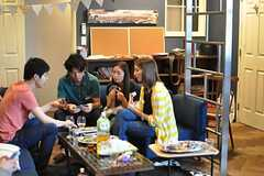 パーティの様子2。(Cafe modern Style)(2014-06-08,共用部,PARTY,2F)