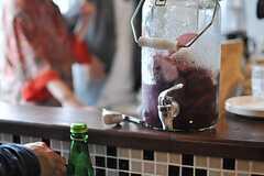 自家製のサングリア。(Cafe modern Style)(2014-06-08,共用部,PARTY,2F)