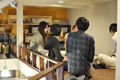 ロフトでは座談会が行われていました。(Cafe modern Style)(2014-06-08,共用部,PARTY,2F)