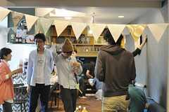 パーティの様子3。(Cafe modern Style)(2014-06-08,共用部,PARTY,2F)