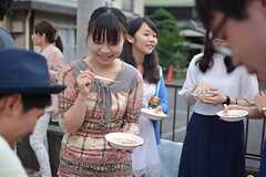 BBQパーティーの様子。(2015-09-05,共用部,PARTY,1F)