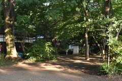 シェアハウス周辺の浴恩館(よくおんかん)公園の様子。(2017-05-29,共用部,ENVIRONMENT,1F)