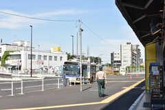 JR中央線・東小金井駅周辺の様子。(2017-05-29,共用部,ENVIRONMENT,1F)