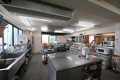 キッチンの様子。(2013-11-05,共用部,KITCHEN,1F)