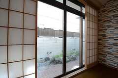 障子戸の外は掃き出し窓。(2015-03-26,共用部,LIVINGROOM,1F)