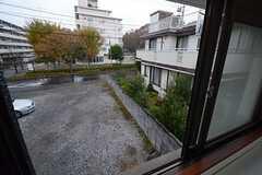 窓からの景色。(201号室)(2014-11-20,専有部,ROOM,2F)